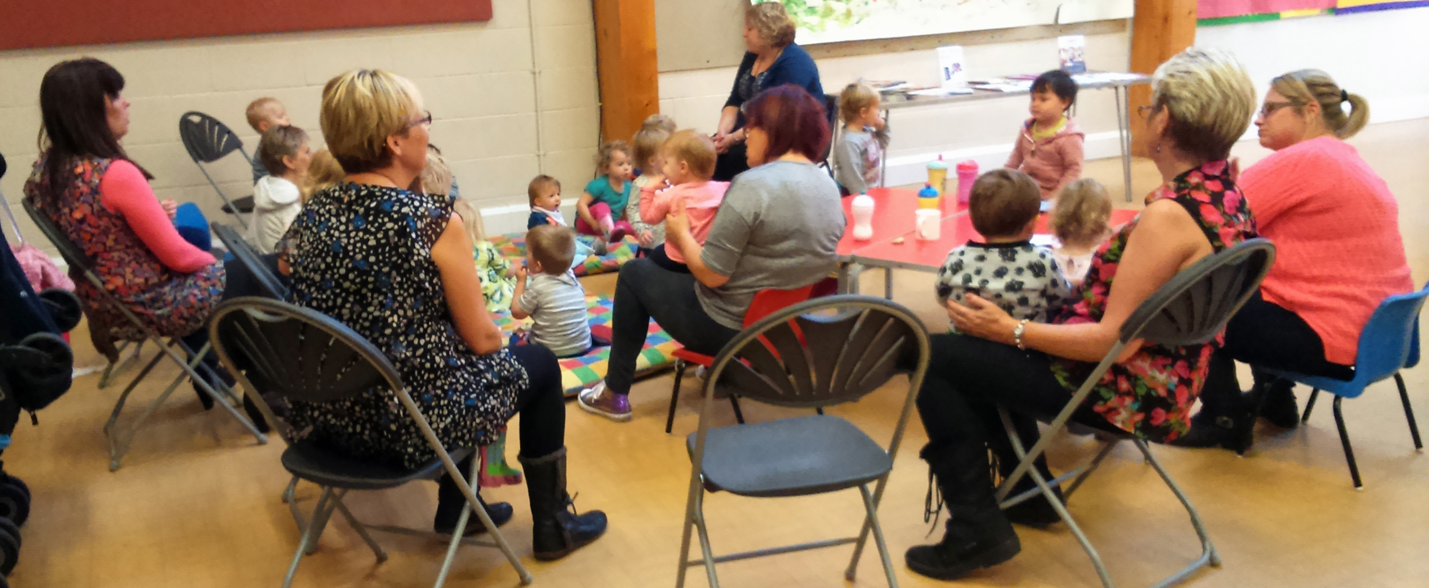 Story telling for under 5's