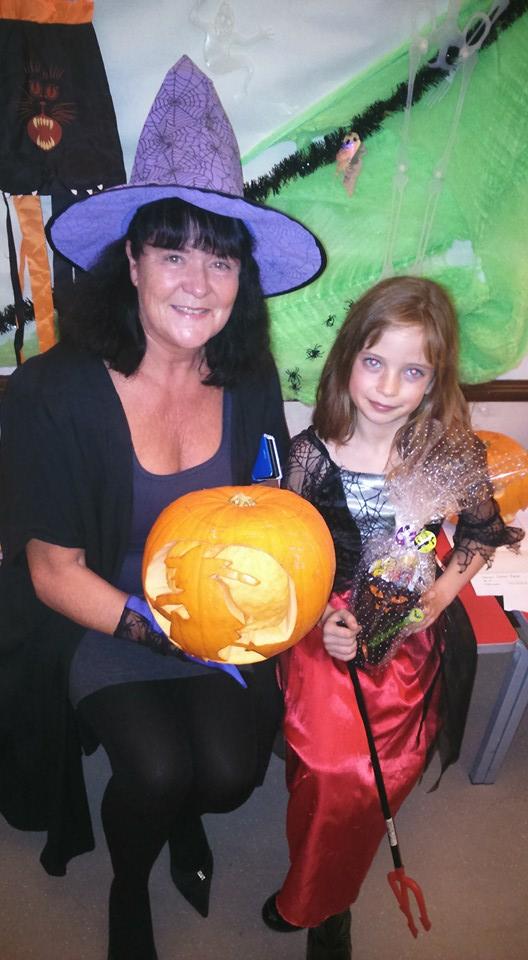Henna and pumpkin