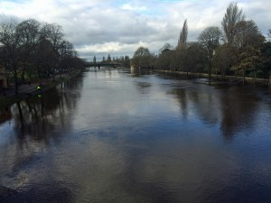 Ouse breaks banks 1130 10th Nov 2015