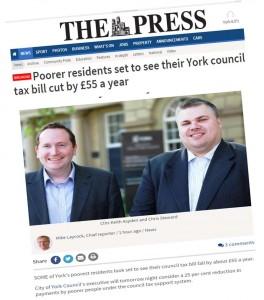 Aspden Steward press headlines
