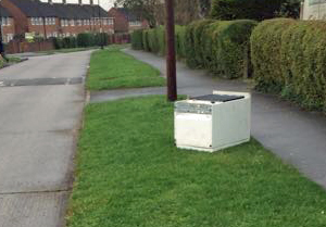 Fridge dumped in Chapelfields
