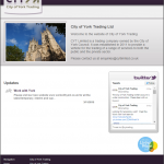 City of York trading hompage
