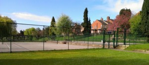 Rowntree tennis court