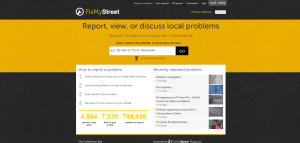"""We recommend """"Fix My Street"""" as the best way of reporting issues - at least until the Councils new system has been proved to work. click"""