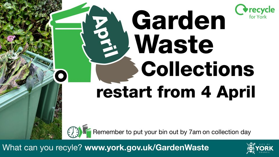 Waste collection starts 4th April 2016