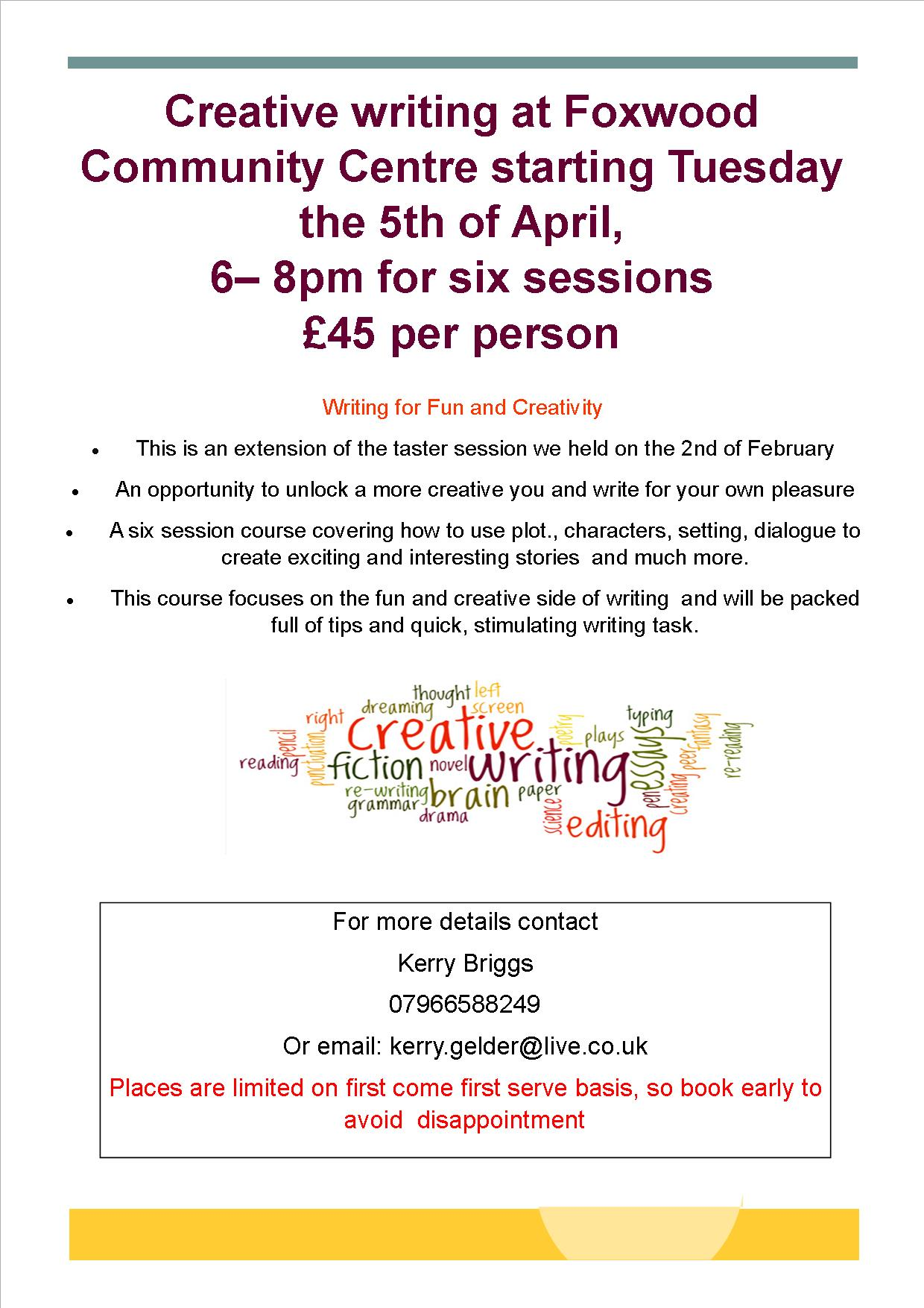 york creative writing course Here are hundreds of writing ideas, along with free tips and worksheets for writers you can also sign up for our free online creative writing courses.