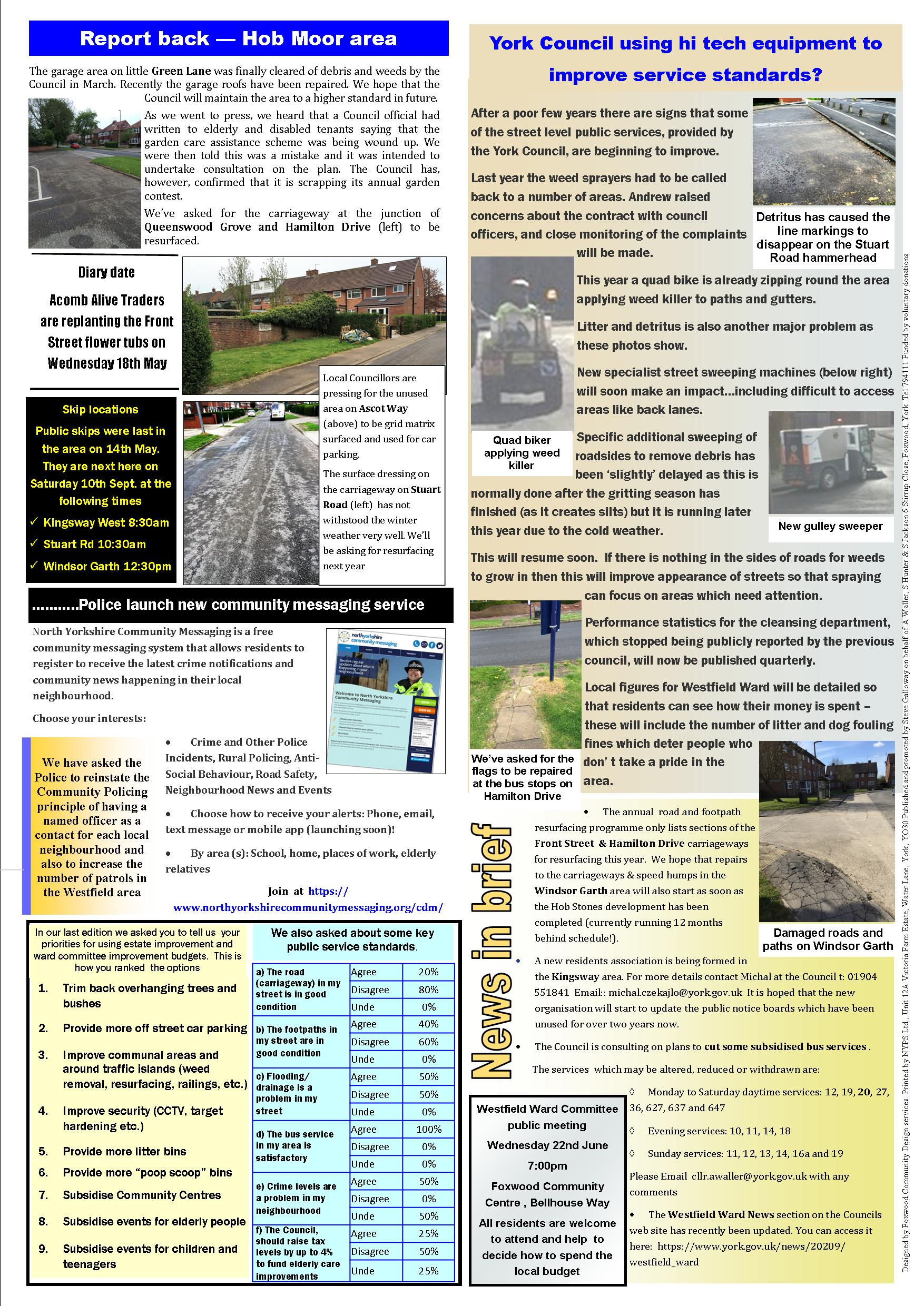 Hob Moor Focus May 2016 page 2