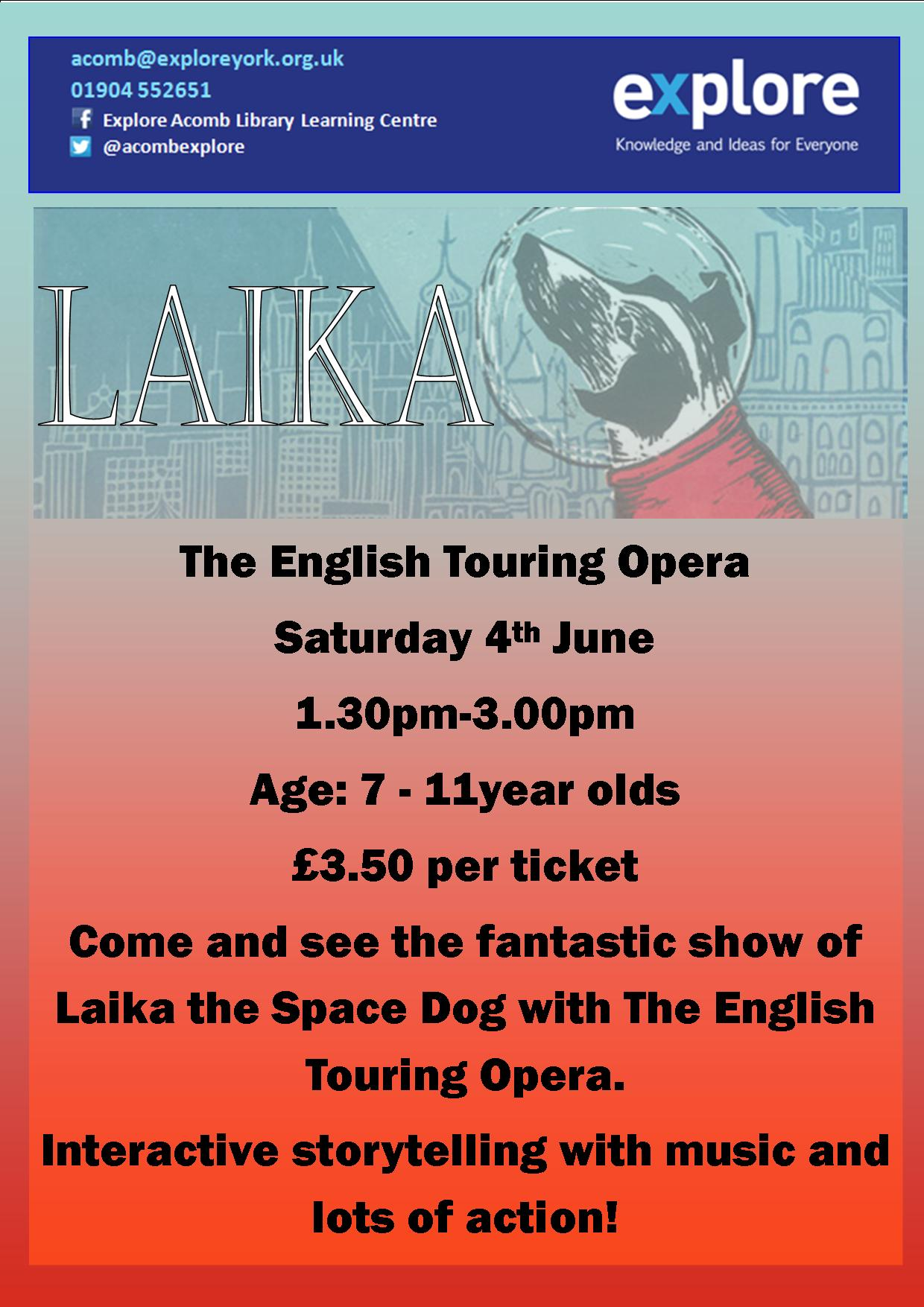 Laika 4th June 2016