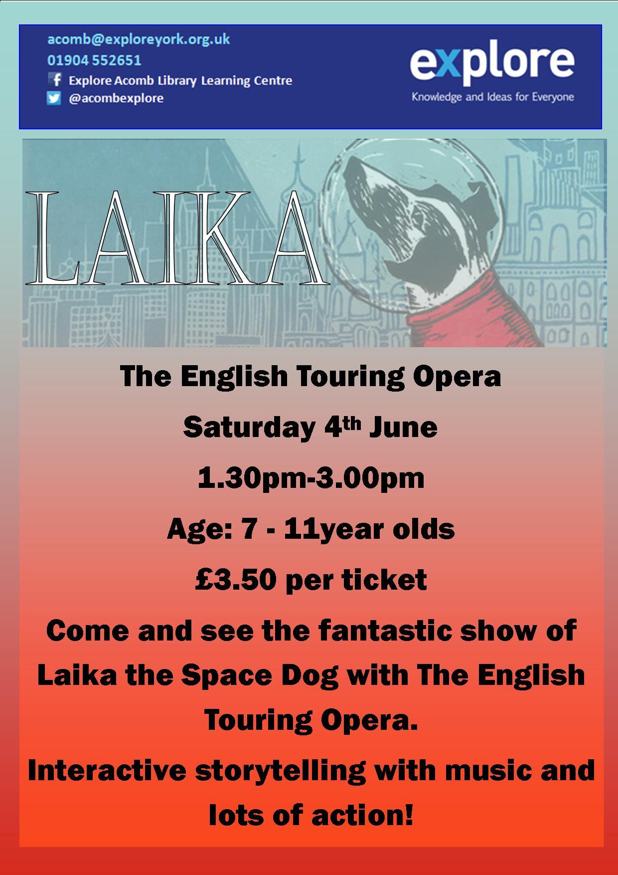 Laika 4th June 2016