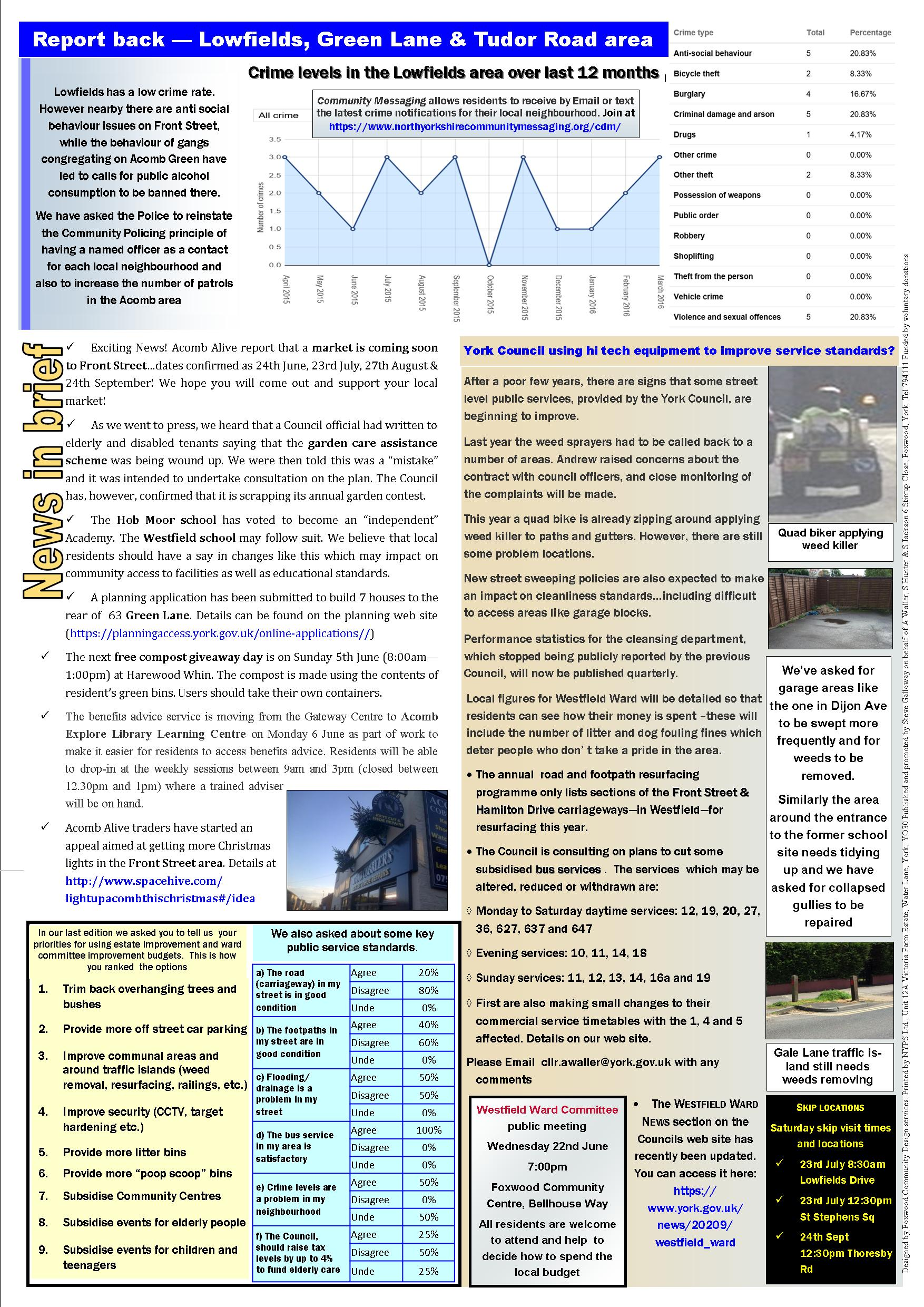 Lowfields Focus May 2016 page 2