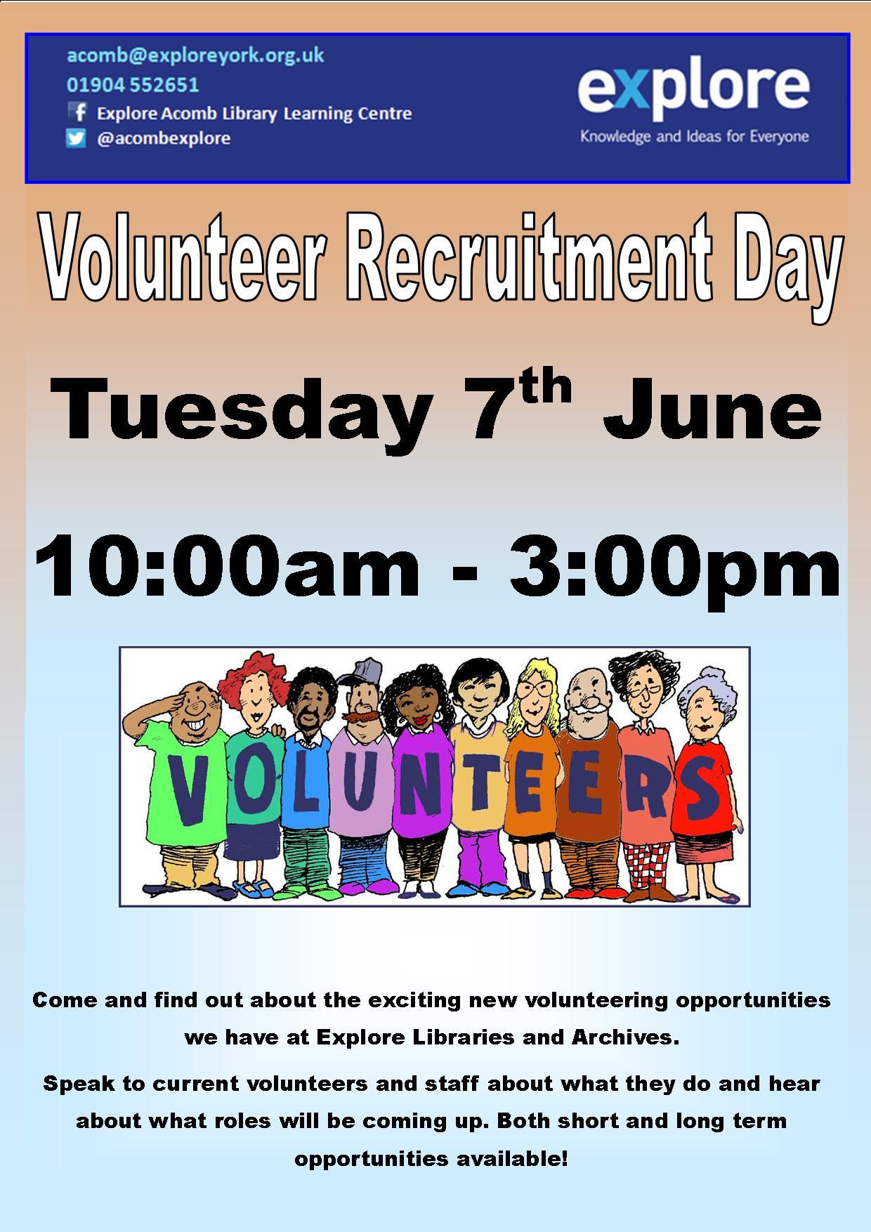 Volunteers 7th June 2016