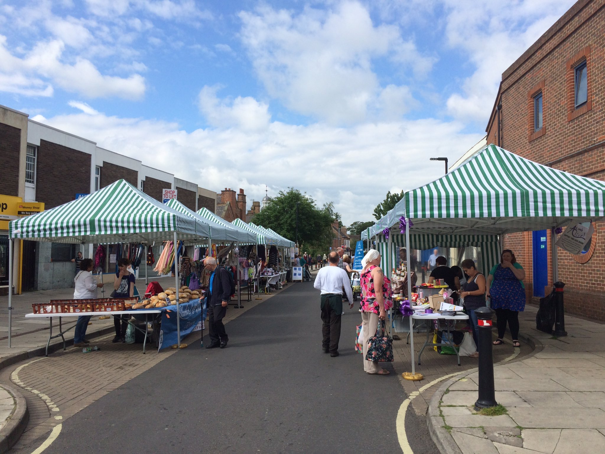 Acomb Market open