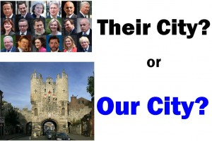 Thier City or Our City