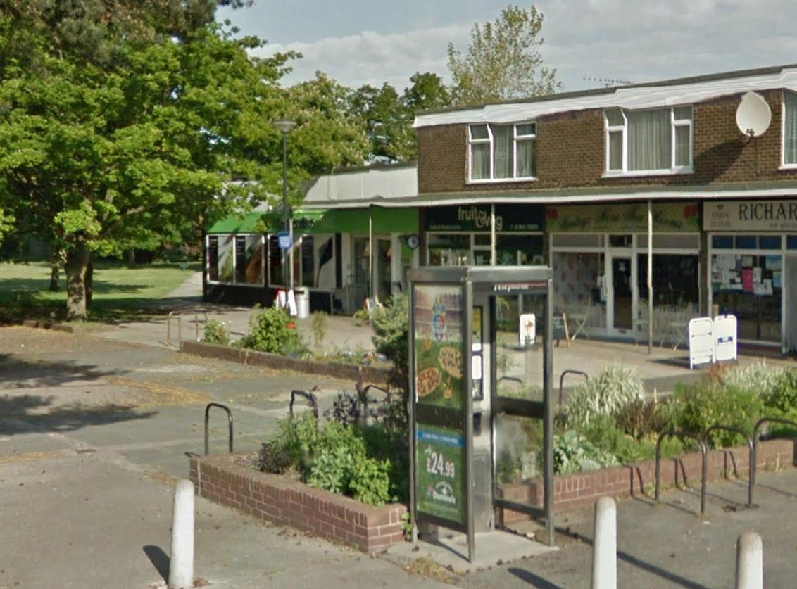 The Woodthorpe greengrocers shop (next to the supermarket) could be turned into a take away