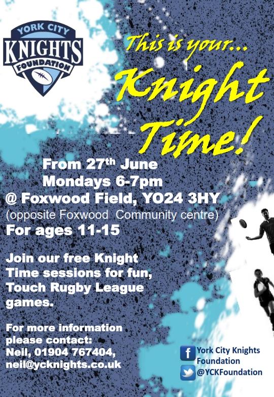foxwood field poster june162_001