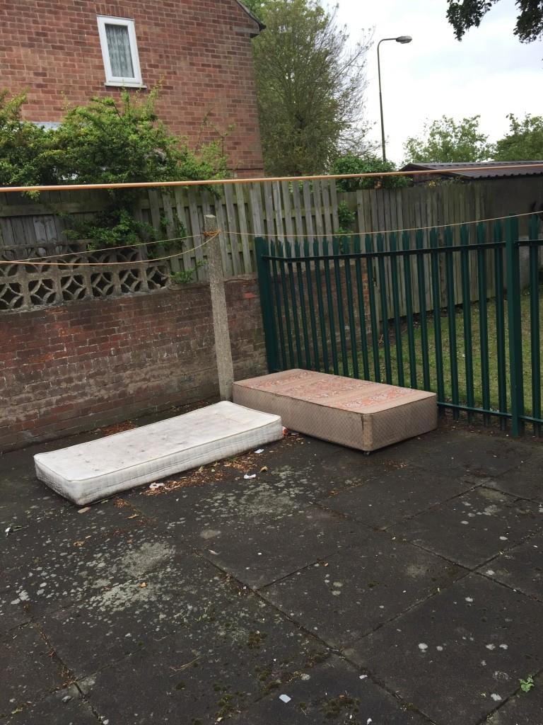 Andrew has also reported problems with dumping in the Lowfields Drive area