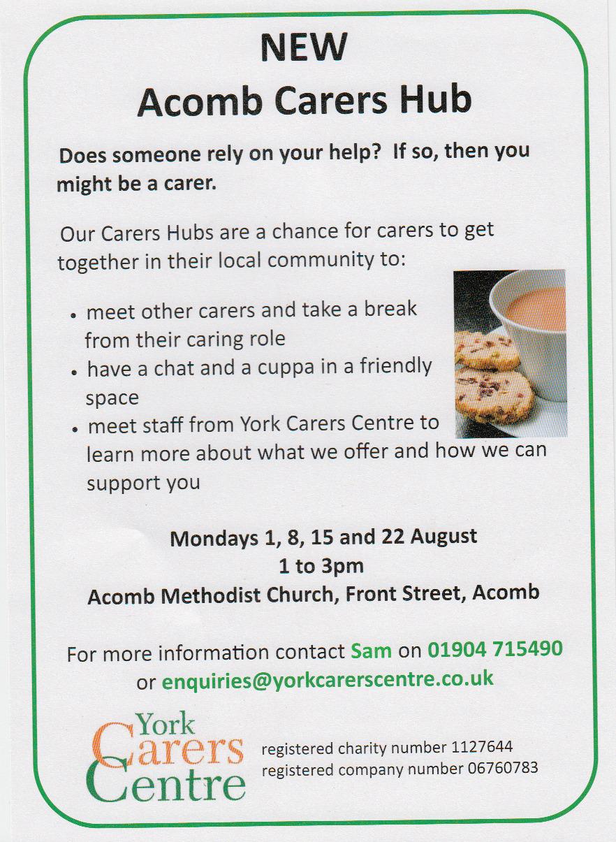 Acomb Carers Hub