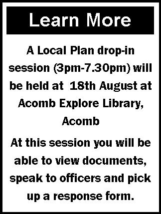 Aug 2016 Find out more Local Plan