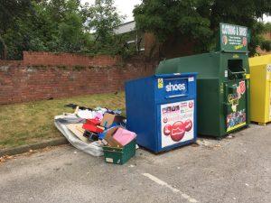 Dumping Acomb car park