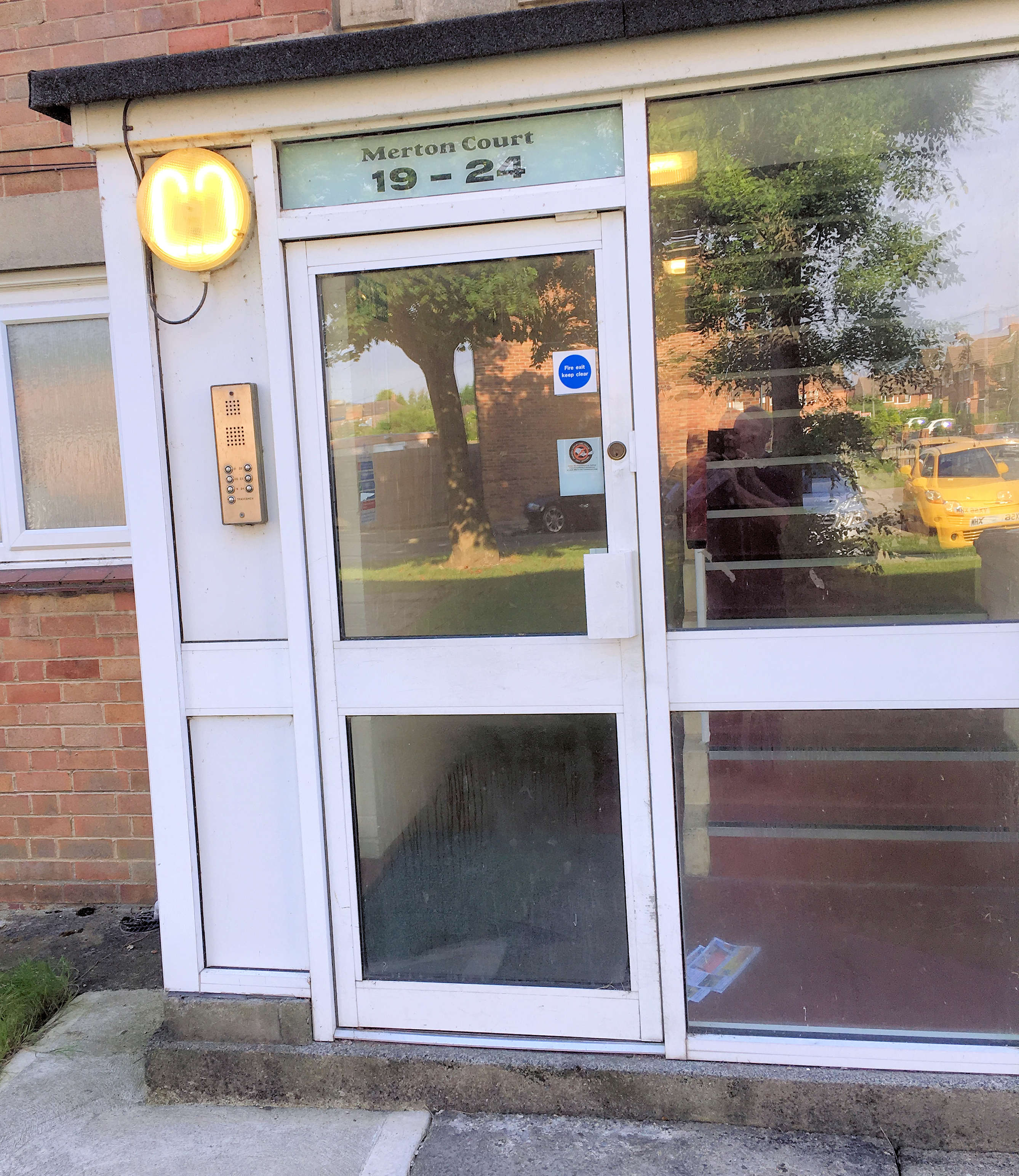 Problems with day burning lights and inoperative door entry systems have been reported