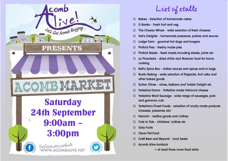 Acomb Market large