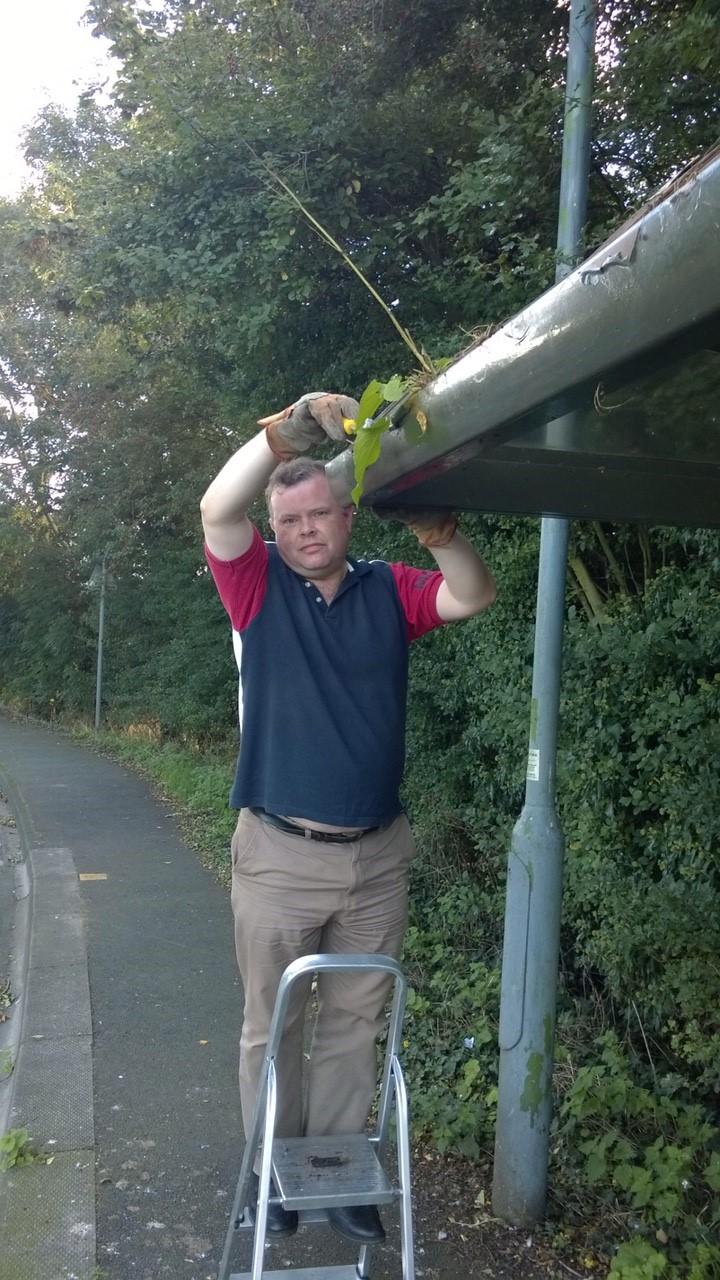 Andrew bus shelter