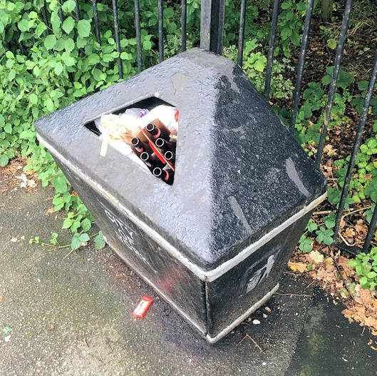 We've asked for the full bin on Bellhouse Way to be emptied