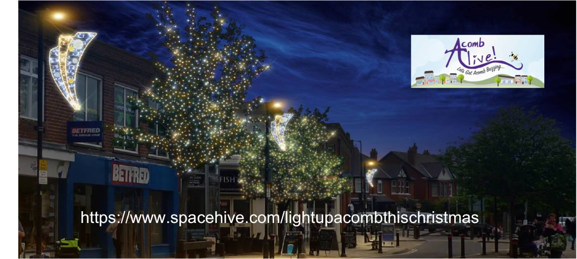 Light up Acomb with AcombAlive