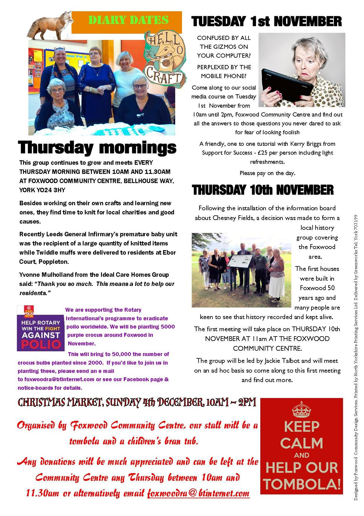 Newsletter autumn 2016 Page 2