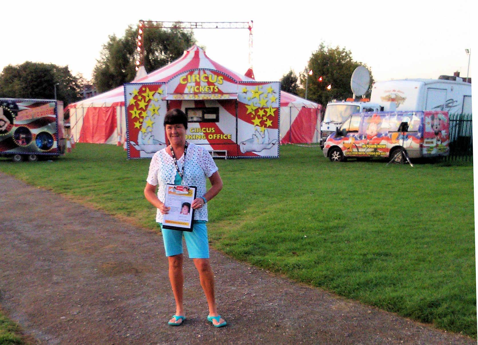 Sheena at Circus