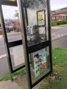 telephone kiosk Cornlands Road 28th Aug 2016