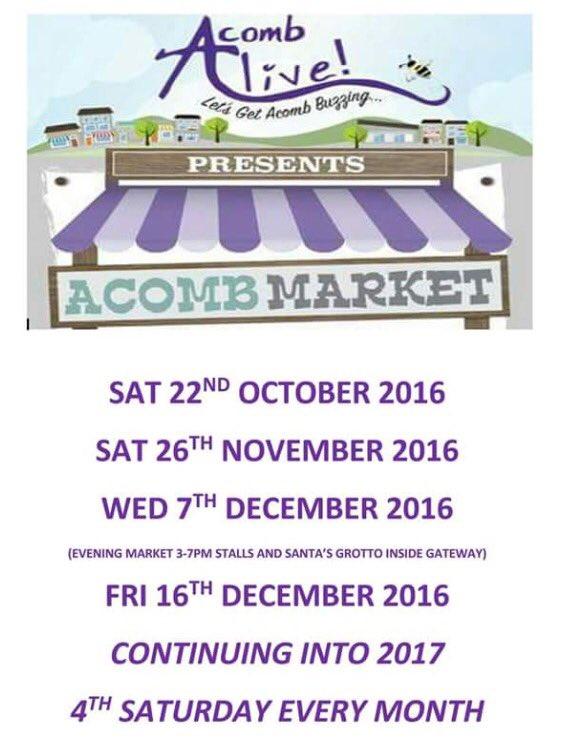 Acomb Market dates
