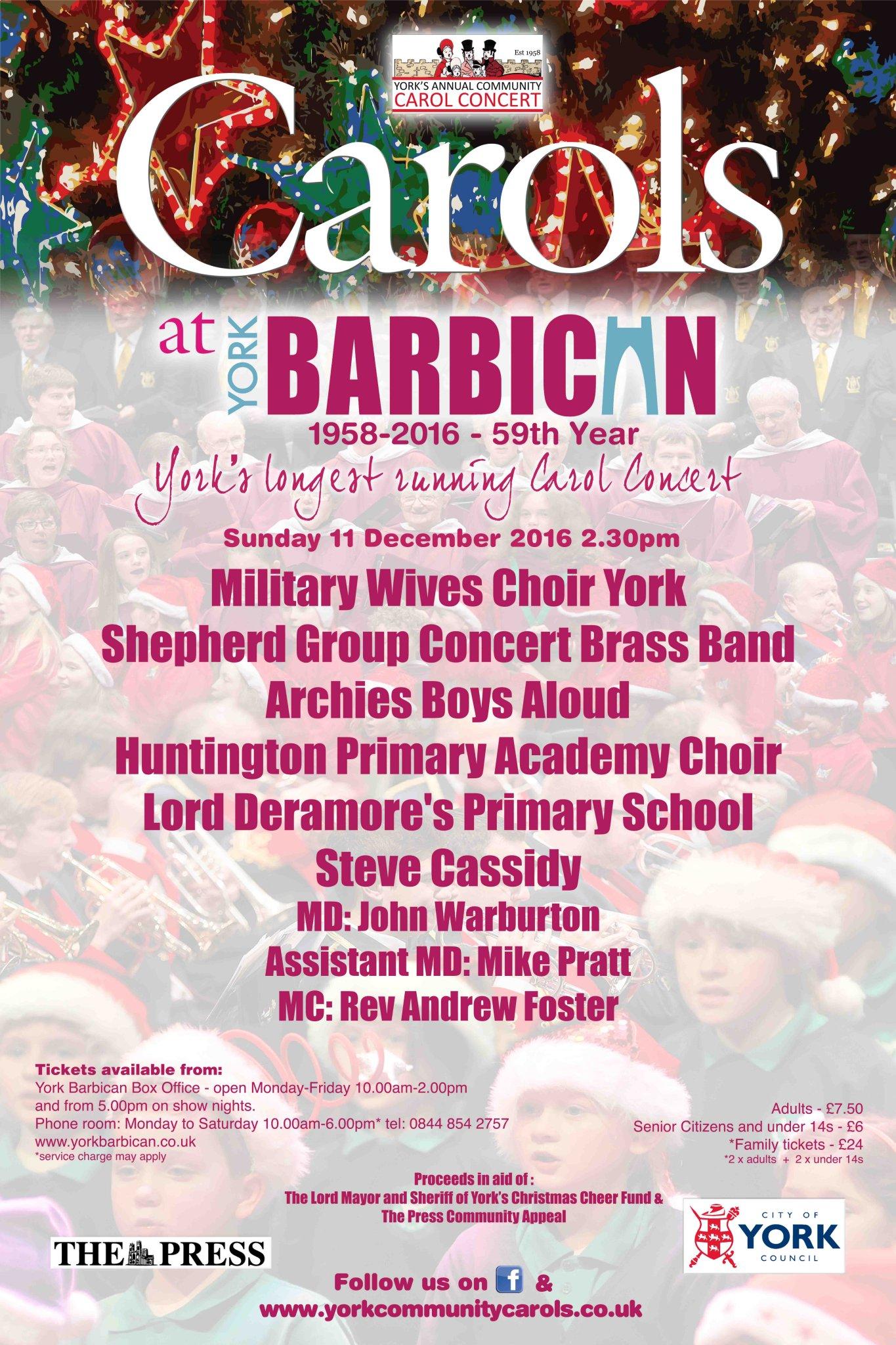 Military choir at Barbican