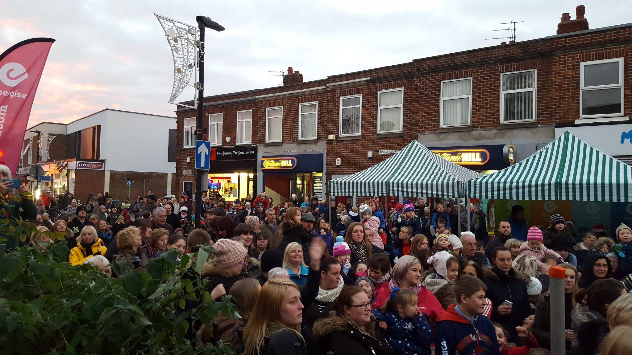 Crowds getting bigger