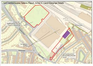 Land owned by York Council