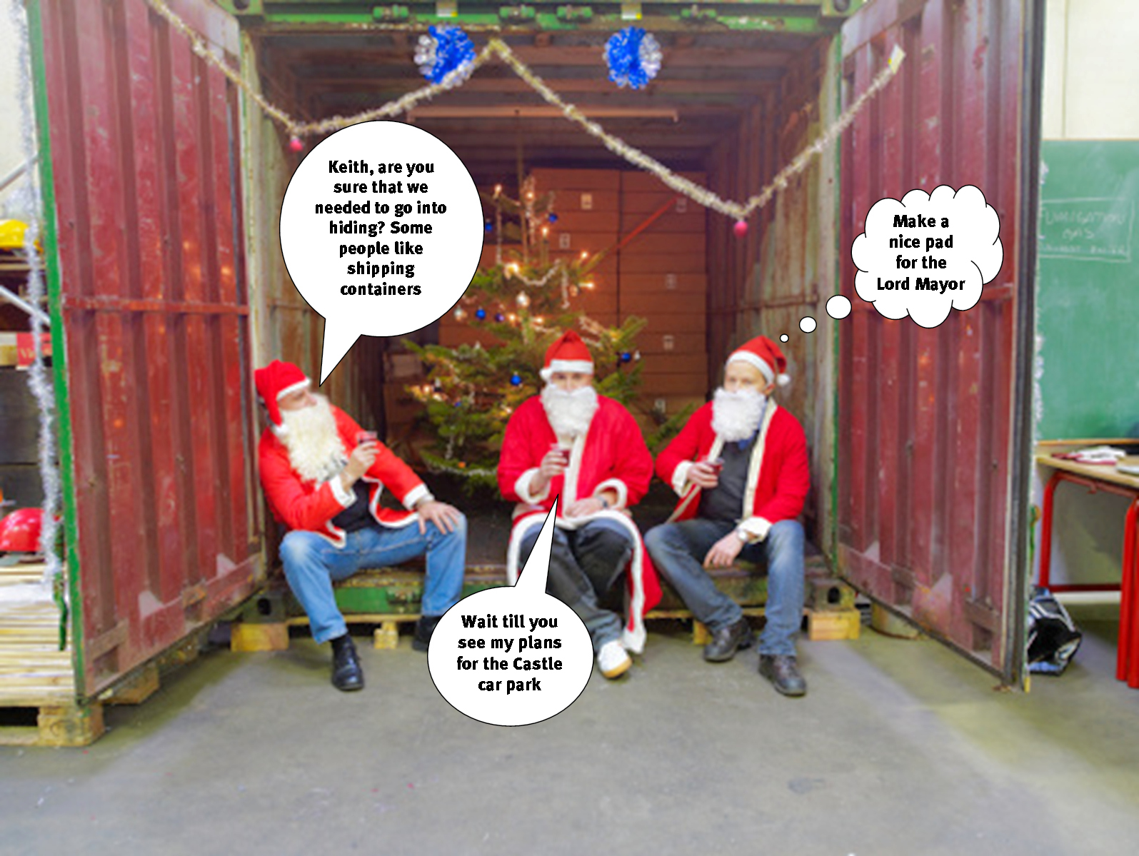 santa-in-container-in-york