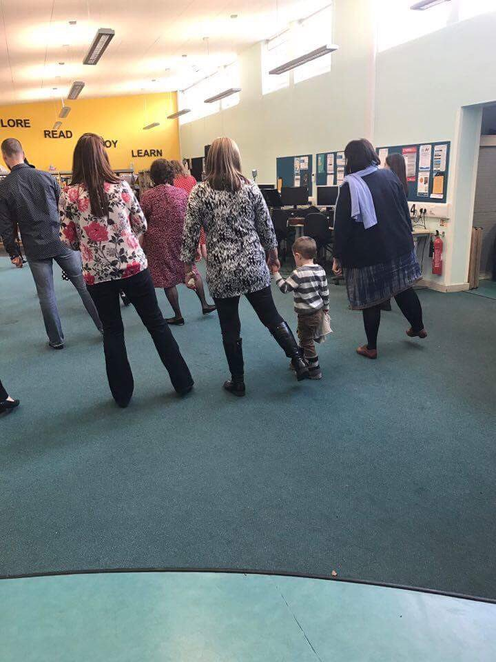 The week began with a tea dance at Acomb library