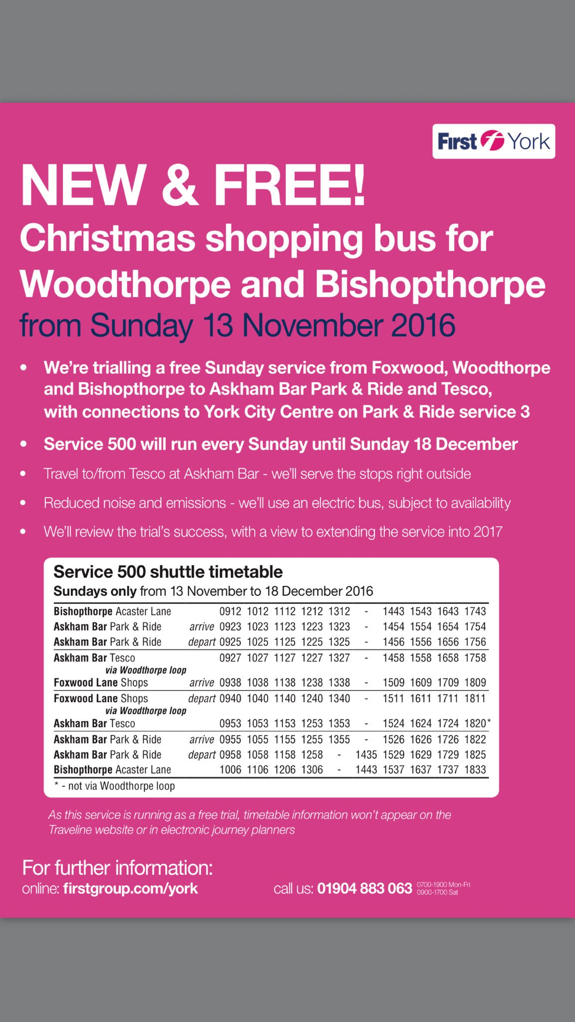 timetable-for-sunday-bus-service