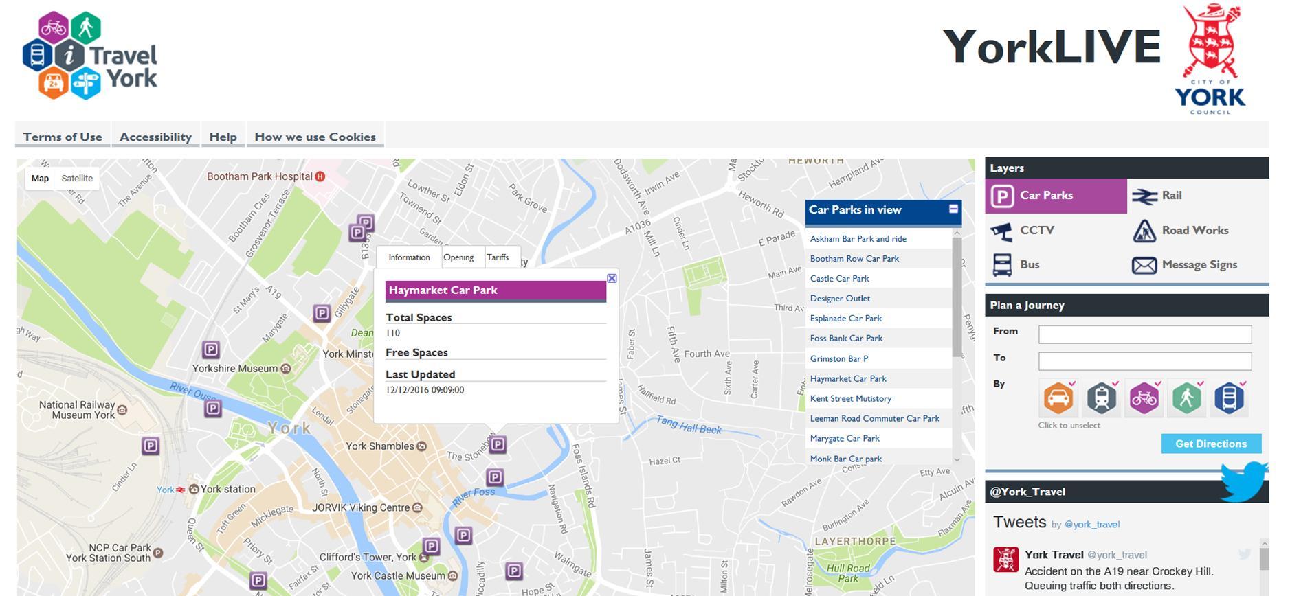 Council web site