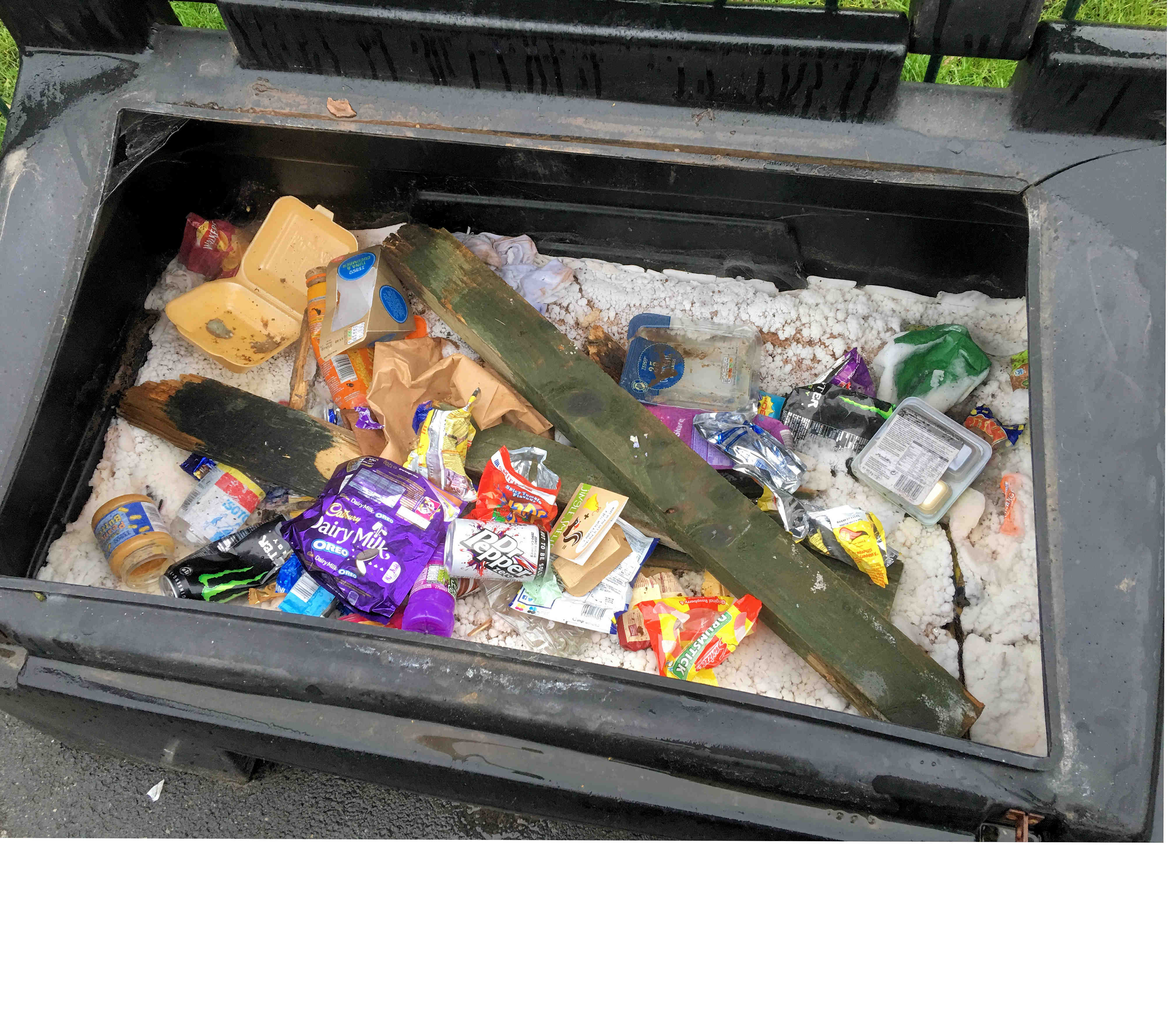 Although we are experiencing mild weather there is likely to be an icy spell sooner or later. Residents are asked to check that salt bins are full (and not filled with litter!)