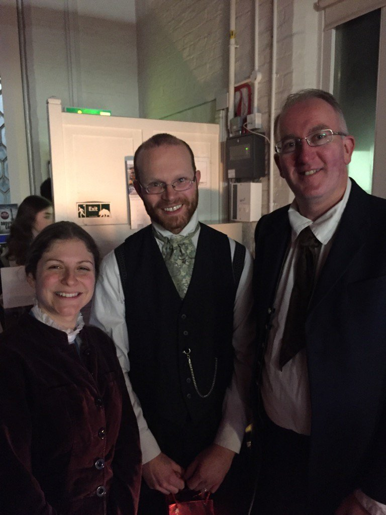 Dringhouses Councillor Stephen Fenton  was one of those attending a sell out 1868 concert re-enactment at Dringhouses Library