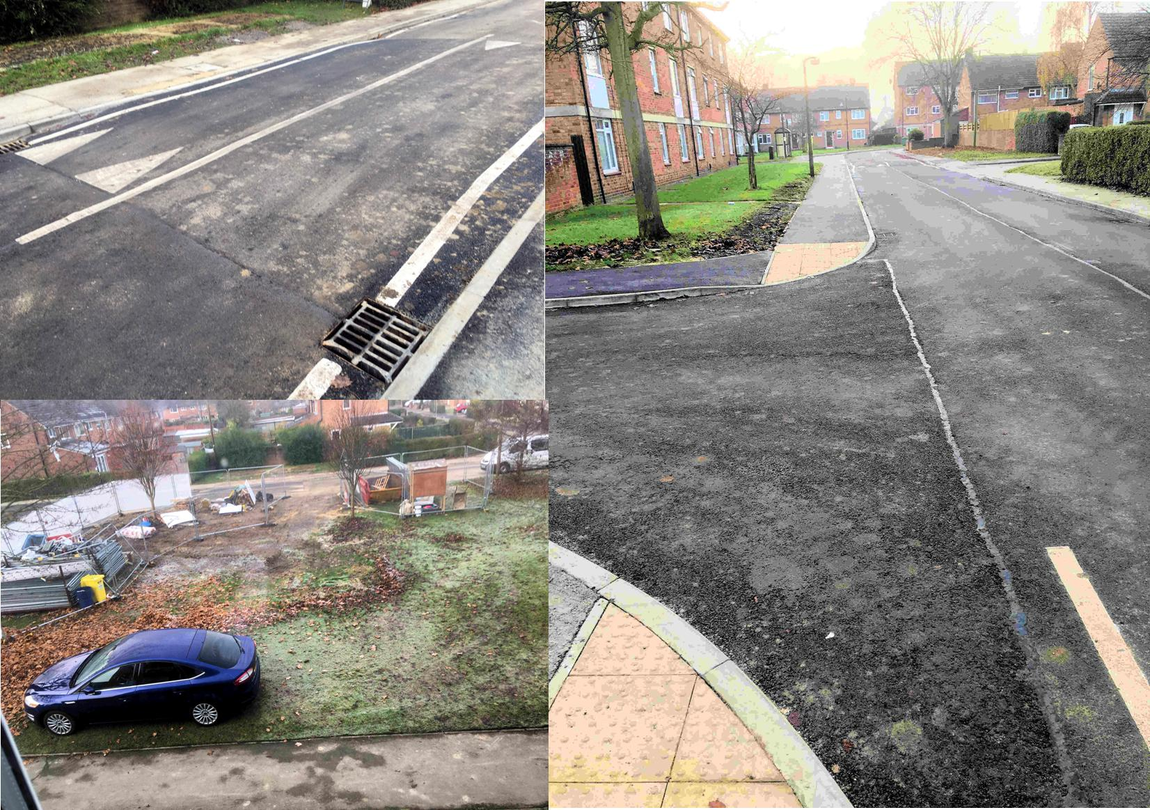 90% of Hob Stones residents had moved int their new homes on Windsor Garth. Some road repairs had been completed although work on the amenity area was outstanding