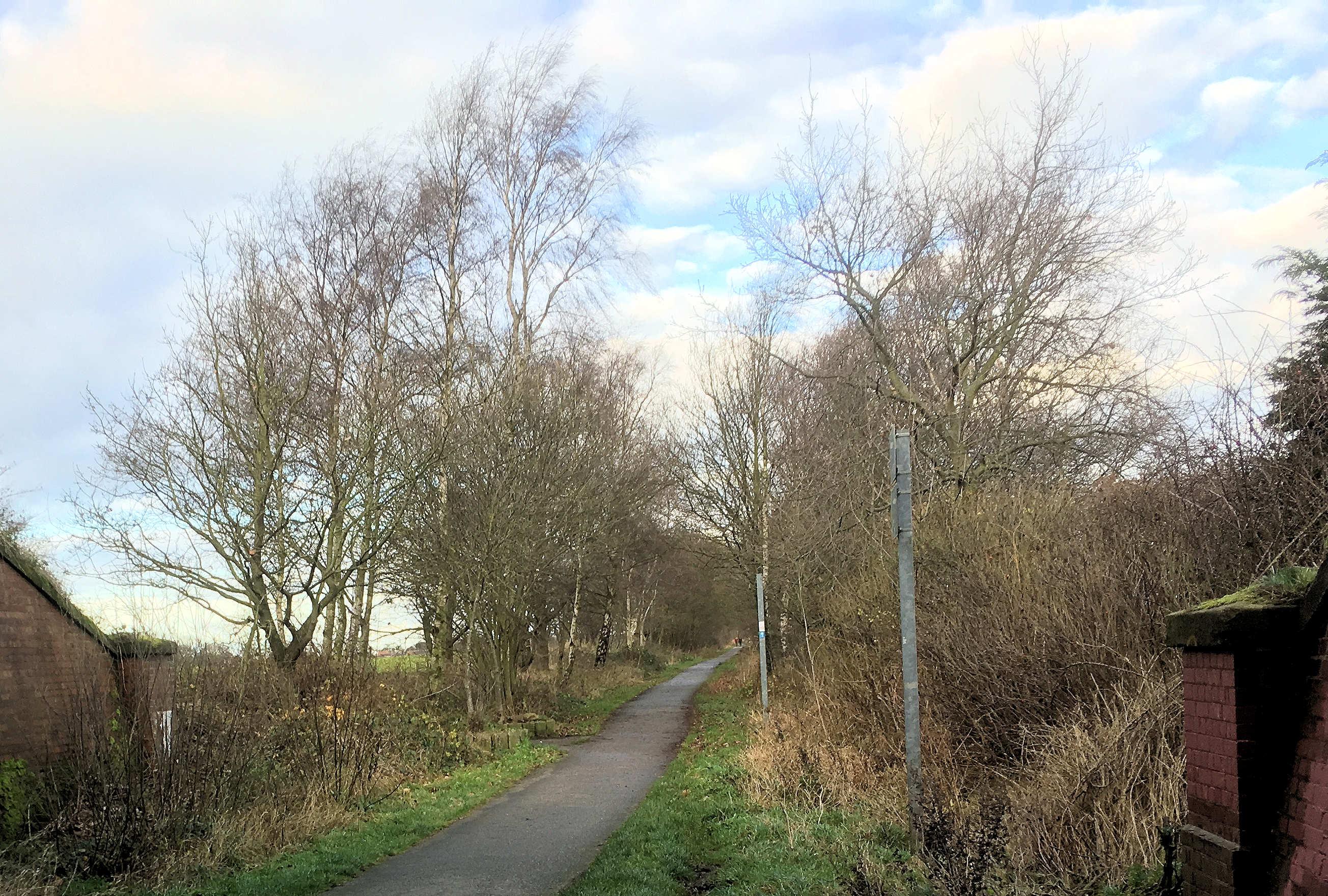 York - Selby cycle tarck 25th Dec 2016